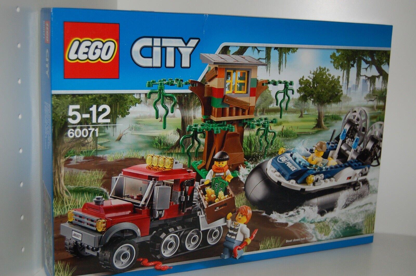 Lego City 60071 poursuites en  aéroglisseur police NOUVEAU  S'adapte à 60068  marques de mode