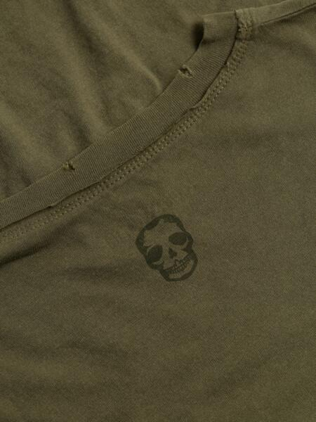 pigmenté Terak T shirt Light logo pour arrière à grande hommetaille ZadigVoltaire 8wmNnv0