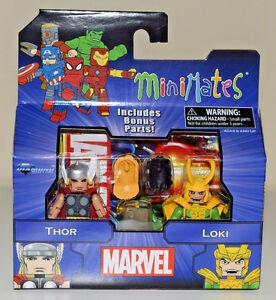 Marvel-Minimates-Greatest-Hits-Wave-1-Thor-amp-Loki-2-Pack-NEW-in-Stocks-2016