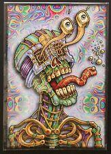 Dead Dictionary Emek signed doodled poster art print Grateful Jerry Garcia