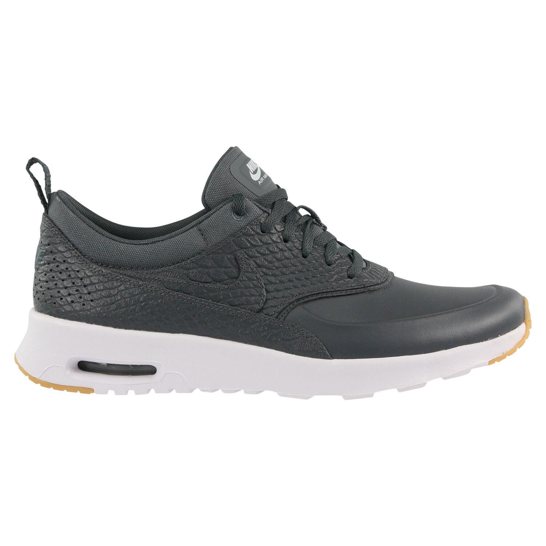 NIKE AIR MAX THEA Premium Sneaker Donna Scarpe Da Ginnastica Grigio Scuro