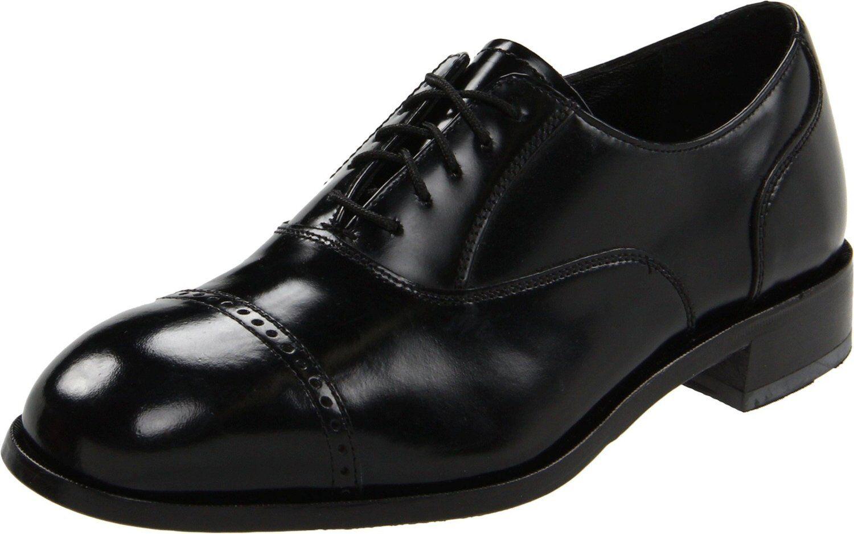 Florsheim Herren 17067 Lexington Schwarz Glänzend Leder Kappe Zeh Oxford    | Für Ihre Wahl