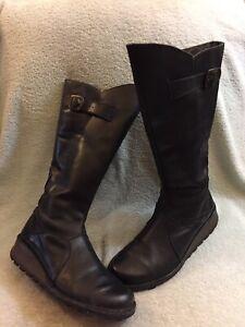 Chukka Black Womens Boots Size 41