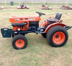 kubota l series tractor service manual l175 l185 l210 l225 l235 rh ebay com Kubota B7100HST 1981 Kubota L185