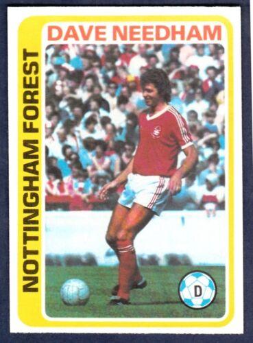 TOPPS 1979 FOOTBALLERS #121-NOTTINGHAM FOREST-DAVID NEEDHAM