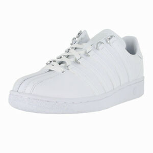 Kswiss Classic Vn Leather 93343-101 White Womens US size 7.5 UK 5.5