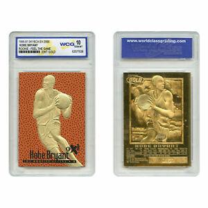 NBA-1996-97-KOBE-BRYANT-Feel-The-Game-SKYBOX-EX-2000-ROOKIE-23K-GOLD-card