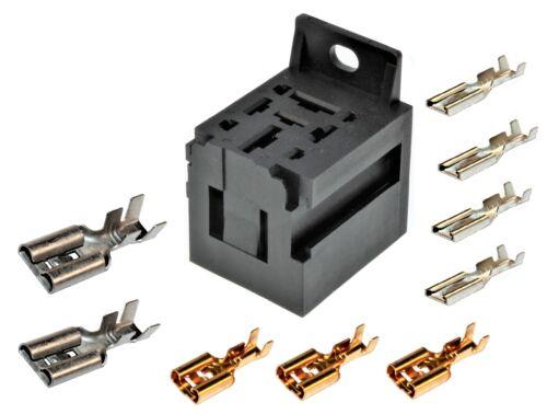 4 x 2,8mm TERMINALI piatti femmina Socket relè Socket auto relè MAXI 2 x 9,5 3 x 6,3