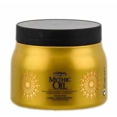 L'OREAL MYTHIC OIL NOURISHING MASK FOR ALL HAIR TYPES PROF 500ml or 16.9 OZ