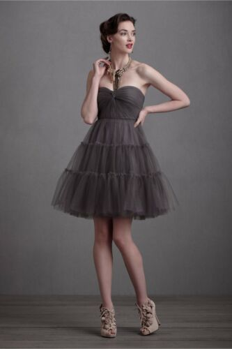 BHLDN VA ET VIEN Allegro Dress Sz 10 Smokey Lavend