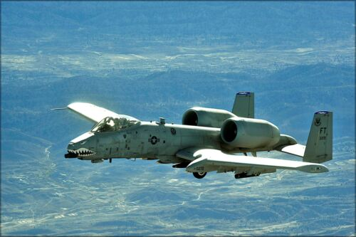 Many Sizes; A-10 Thunderbolt Ii Warthog Combat Mission Afghanistan Poster