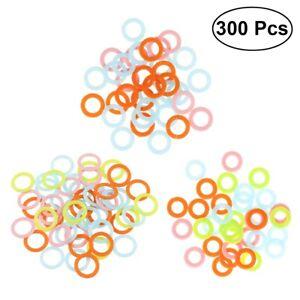 300PCS-Amazing-Knitting-Crochet-Locking-Stitch-Ring-Markers-Holder-Tools