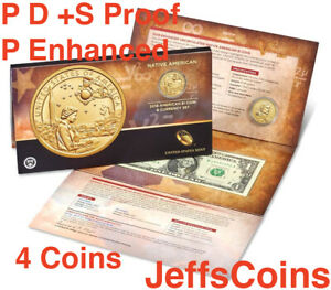 2019-P-P-D-S-Proof-Sacagawea-1-Coin-amp-Currency-Native-American-Enhanced-19NR