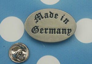 Made-in-Germany-Abzeichen-Pin-Button-Badge-Anstecker-24-NEU