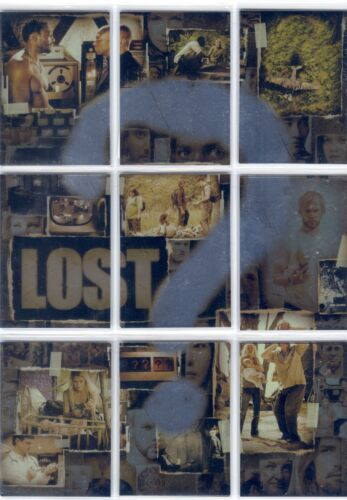 Lost Season 2 Complete Puzzle Chase Card Set ?1-?9