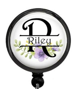 Custom Badge Reel Personalized ID holder