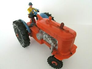 Marx-Vintage-Toy-Tractor-bump-amp-go-action-Battery-powered-1950-60-s-10ins-long