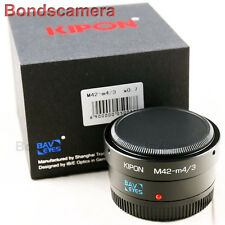 Kipon Baveyes 0.7x Optic Reducer Adapter M42 Lens to Micro 4/3 MFT GH4 OM-D E-M1