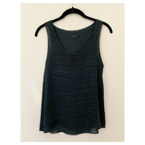 rag and bone silk blouse size 4 excellent conditi… - image 1