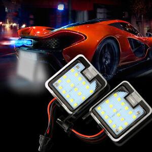 Auto-Retrovisore-Specchio-LED-Pozzanghera-Luci-Per-Ford-Focus-Escape-C-max-Kuga