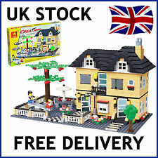 CREATION CREATOR CITY VILLA HOUSE DREAM HOME BUILDING BRICKS 816 PCS COMPATIBLE