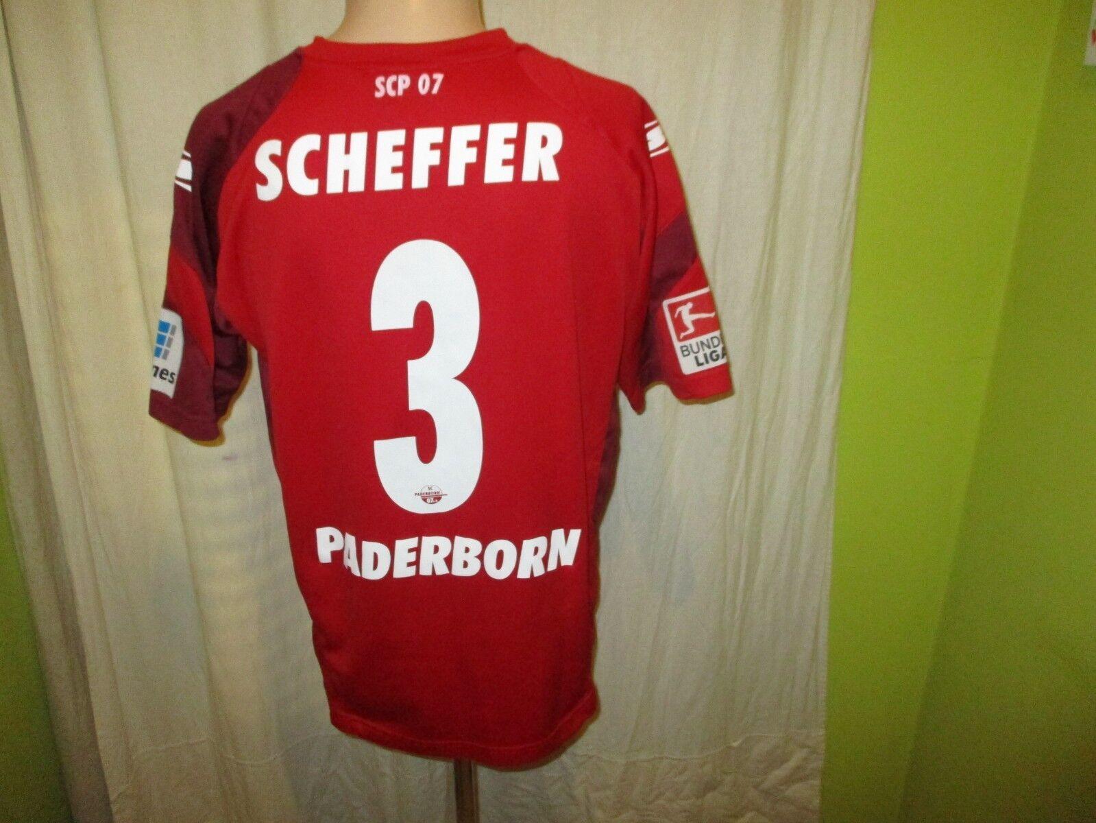SC Paderborn saller Auswärts Trikot Matchworn Trikot Auswärts 2013/14 + Nr.3 Scheffer Gr.M TOP f08c29