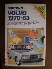 Volvo - CAR REPAIR MANUAL - 1970-83 Chilton 7040 COUPE, DIESEL, TURBO