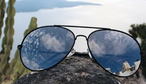 "Aviator /""ANGELA/"" Shield Mirror POLARIZED Lens Women Sunglasses OVERSIZED Shadz"