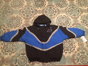 Vintage 90s Carolina Panthers NEW NWT Starter Jacket Apex One Coat ... 310d42f98