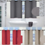 """thumbnail 1 - 1 SET 100% BLACKOUT INSULATE THERMAL SHORT PANELS WINDOW CURTAIN IN 36"""" 54"""" 63""""L"""