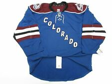 COLORADO AVALANCHE AUTHENTIC THIRD TEAM ISSUED REEBOK EDGE 2.0 7287 JERSEY SZ 52