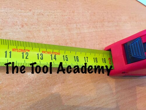 19 mm largeur Teng Outils Ruban à mesurer métrique 5 mètre 5 m