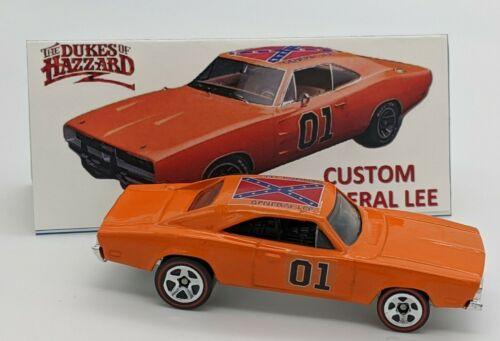 Hot Wheels Custom Dukes of Hazzard General Lee /'69 Dodge Charger Redlines
