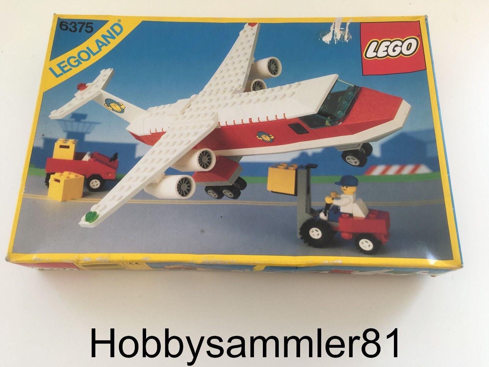 Lego® 6375 Legoland Trans Air Carrier   Tranportflugzeug   Neu und OVP