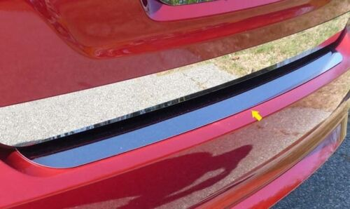 FITS FORD FUSION 2010-2012 STAINLESS STEEL CHROME REAR BUMPER TRIM INSERT