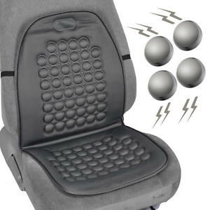 Magnetic-Bubble-Seat-Cushion-Massage-Therapy-Beads-Car-Auto-Home-Office-Gray