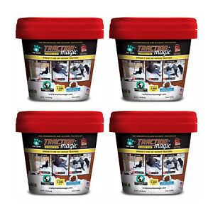 Traction Magic Quick Application All Natural Ice and Snow Melter, 15 Lb (4 Pack)