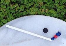 Miniature Dollhouse FAIRY GARDEN Accessories ~ Hockey Stick & Puck ~ NEW