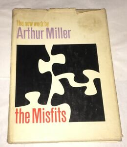 The-Misfits-Arthur-Miller-1961-1st-Ed-Marilyn-Monroe-Clark-Gable-Screenplay-Rare