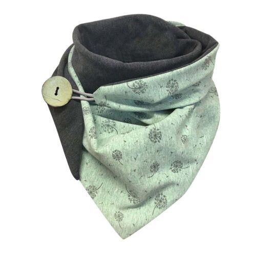 Ladies Winter Neck Warmer Dandelion Print Wrap Stole Shawls Women Thermal Scarf