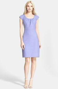 NWT-kate-spade-new-york-tweed-sheath-dress-Size-10-Lilac-Lavendar-blue