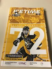 RARE Pittsburgh Penguins Sidney Crosby 1000 Career Points Game Program 2/16/17
