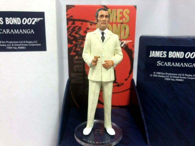 JAMES BOND CORGI ICON SCARAMANGA 1st EDITION  FIGURE 007