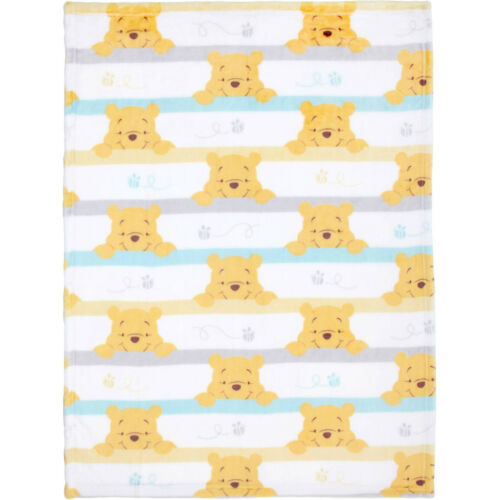 Unisex Disney Winnie The  Pooh Together Forever Super Soft Baby Fleece Blanket