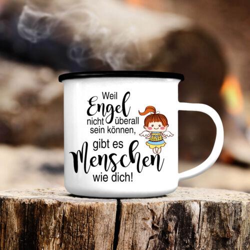 Campingbecher Engel Mädchen CB135 Kompliment Liebe Freundschaft Geschenk