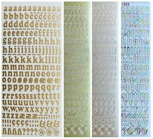 ALPHABET-LOWERCASE-Peel-Off-Stickers-10mm-Letters-Card-Making-Scrapbooking