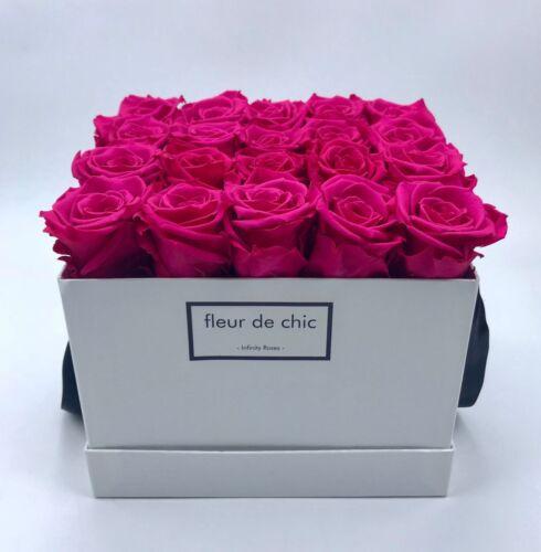 Blumenbox  mit Infinity Rosen  Geschenk ❤️ Hochzeit ❤️ Exklusive Rosenboxen