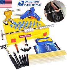 Paintless Dent Repair PDR Tools Slide Hammer Puller Hail Removal Body Tap US Kit