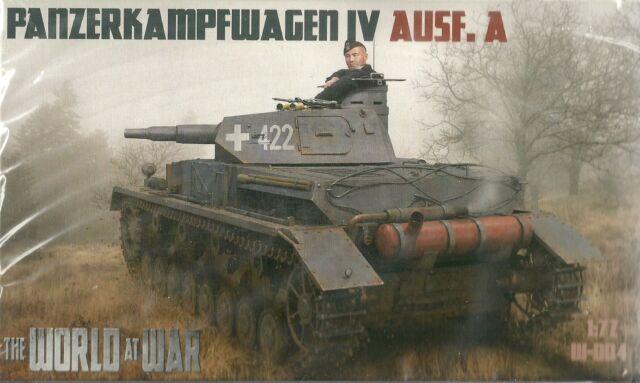 Guideline Publications / Ibg Models 1/76 (20mm) Pz Kpfw IV Ausf A