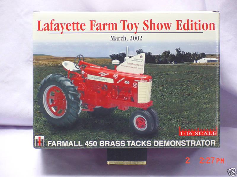 Lafayette 2002  FARMALL 450 DEMONSTRATOR TRACTOR, 1 16